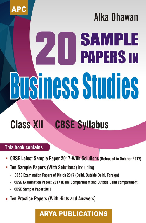 Business studies previous question papers
