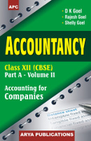 Accountancy Part A- Vol II Class XII
