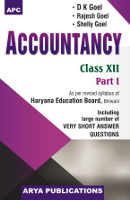 Accountancy Class XII, Part I (Haryana)