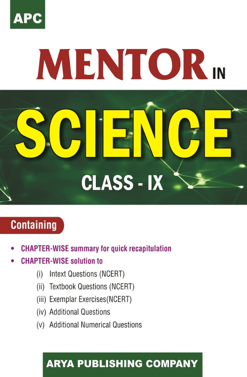 APC Mentor in Science Class- IX for CBSE, Science (Physics