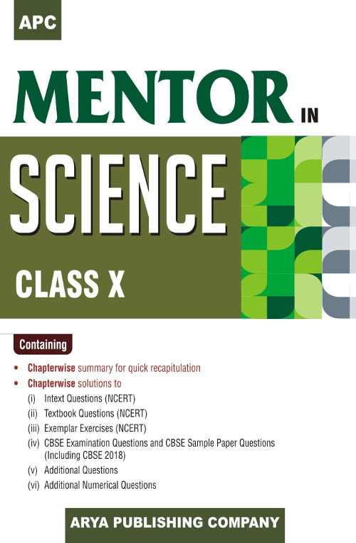 APC Mentor in Science Class- X for CBSE, Science (Physics