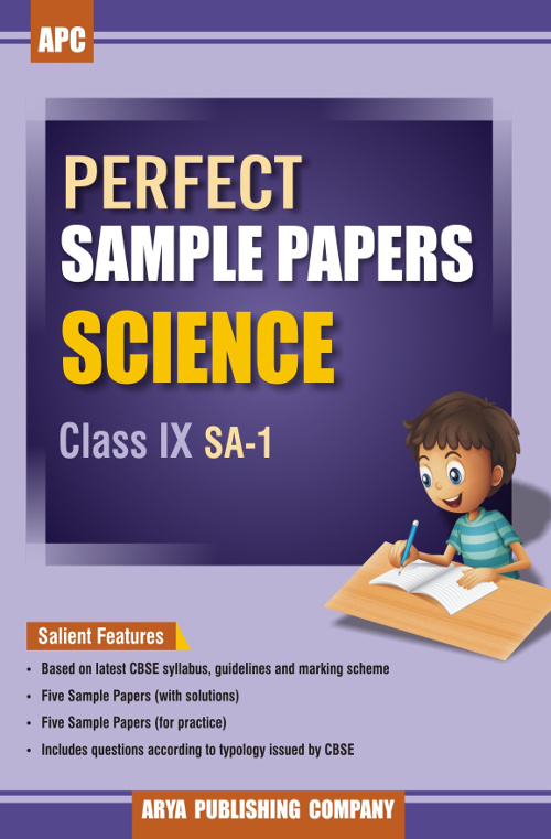 Perfect Sample Papers Science Class IX SA-1 for CBSE